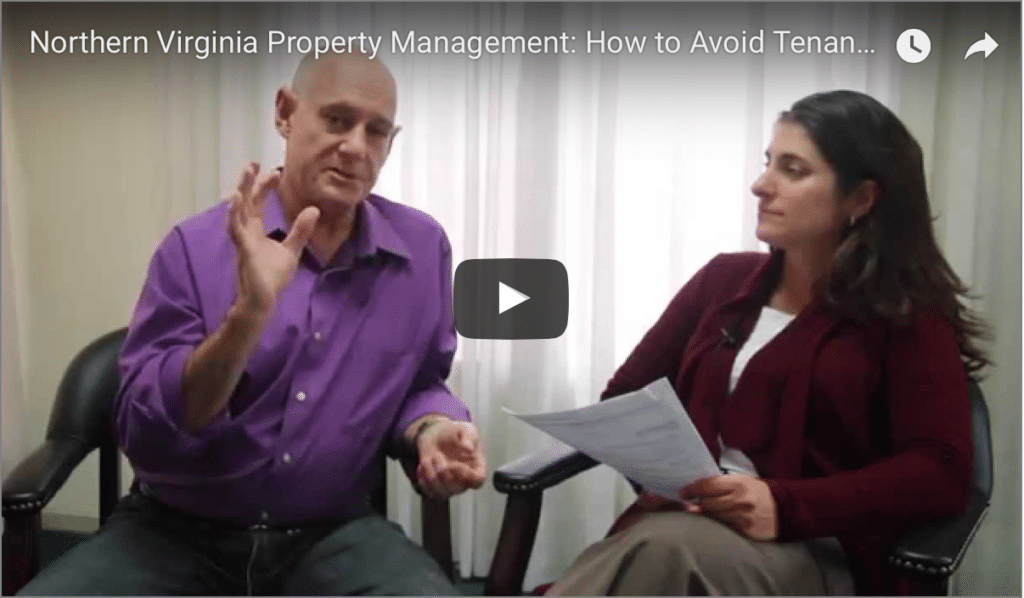 Video screen shot, avoid tenants damaging your home.
