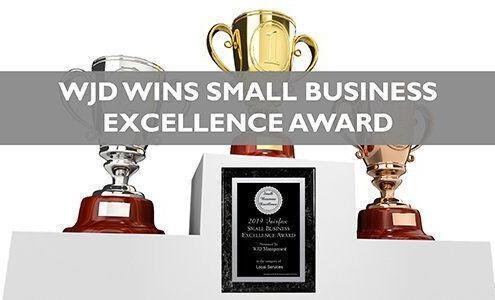 WJD Management Awarded 2019 Fairfax Small Business Excellence Award_wjd management awards