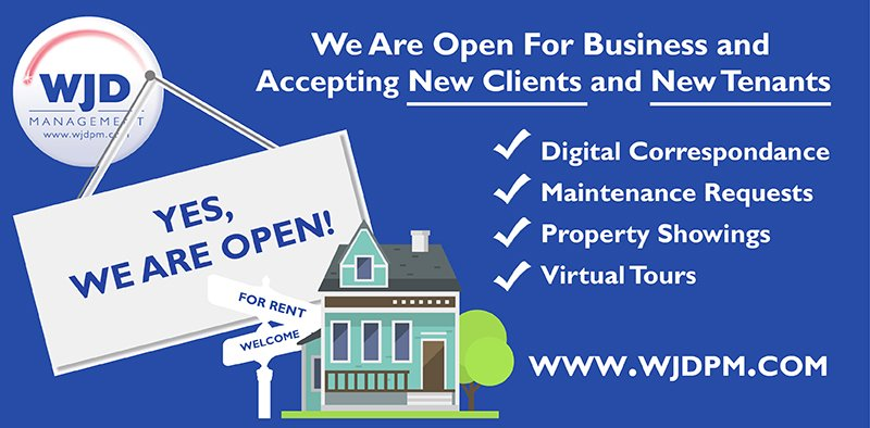 wjd we are open for business_covid-19 update